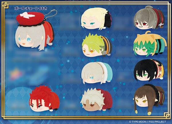 もちもちマスコット Fate/Grand Order vol.6 10個入りBOX[エスケイジャパン]《02月予約》