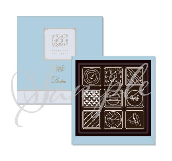 コレクション, その他  Chocolate Gift 2021 M.amie01
