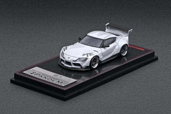 車, ミニカー・トイカー 164 PANDEM Supra (A90) Pearl White