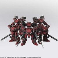 フロントミッション ストラクチャーアーツ プラスティックモデルキット Vol.2 フロスト 地獄の壁 6機セット