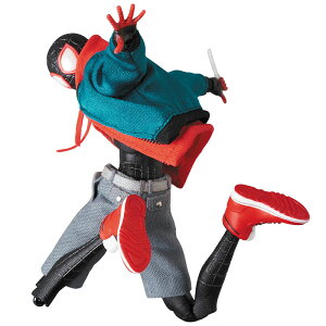 マフェックス No.107 MAFEX SPIDER-MAN(Miles Morales)(『SPIDER-MAN:INTO THE SPIDER-VERSE』版)[メディコム・トイ]《06月予約》