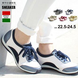 深淺不一的休閒運動鞋婦女運動鞋走路鞋花邊休閒帝利樂趣