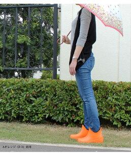 カラフルショートレインブーツレディース花柄無地カップインソールクッションインソールレインシューズ雨靴雨具ショートゴム長靴フューチャーブーツ防水靴ガーデニングレジャー通勤