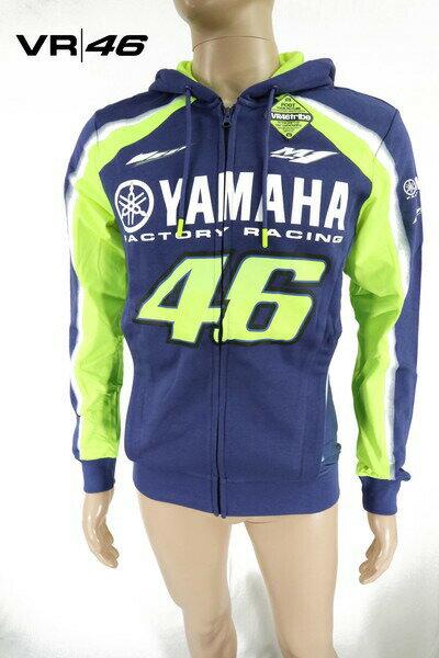 トップス, パーカー 70OFF VR46 46 L HCS144 L YAMAHA MOTO GP Gruppo Pritelli