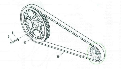 40409-04スプロケットトランスミッション29T