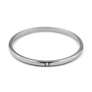 1.5mm幅シンプルチタンペアリングナチュラルLady's天然ダイヤ付き[R0222-XXX-XX&R0222-WDA-XX]
