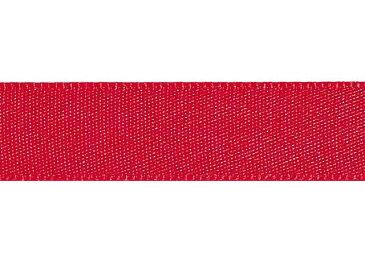 シングルサテンリボン 9X20 Xアカ 1巻 <リボン・ラッピング・包装・プレゼント・ハンドメイド・DIY・フラワーアレンジメント>