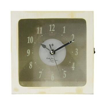 花時計ダブルウインドウ1コ<フラワーアレンジメント・プリザーブドフラワー・置時計・掛け時計>