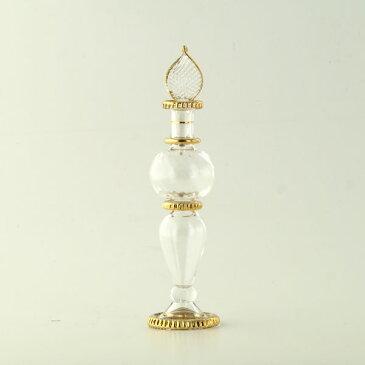 ハーバリウム ガラス 瓶 ボトル 香水瓶 エジプシャングラス(SサイズC) エジプト