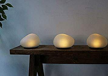 LED イルミネーション ソーラーストーン Lサイズ