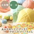 (毛糸)あみもねっと とびっきりやわらかメリノちゃん 合太〈エクストラファインメリノウール使用) 日本製 オリジナル毛糸