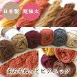 (毛糸)あみもねっと ピクニック (ウール100%)日本製 超極太 オリジナル毛糸