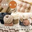 【1色10玉セット】(毛糸)あみもねっとアルパカとメリノの物語 並太 ウール(メリノウール)60% アルパカ(ベビーアルパカ)40%使用 日本製 オリジナル毛糸