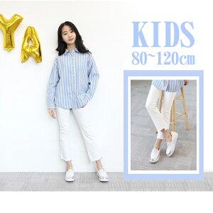 542d77ce01aa4  再販 送料無料 子供服 韓国風 ボトムス キッズ パンツ 女の子 ホワイト 可愛いい