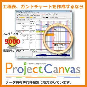 ProjectCanvas(年間ライセンス)【ルミックス】