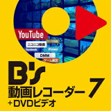 B's動画レコーダー7+DVDビデオダウンロード版【ソースネクスト】