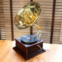 インテリアにも最適な蓄音機|アンティーク蓄音機|ギフトにディスプレイに最適