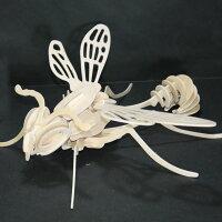 3Dパズル昆虫7|木製パズル