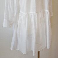 パシオーネ(PASSIONE)ウエスト切替ギャザーシャツ(pa067)
