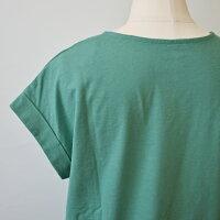 ププラ(PUPULA)袖口ダブル綺麗色が揃った半袖カットソー(pp058)