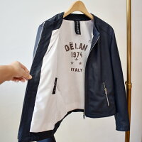Delanデランジップレザージャケット(as004)