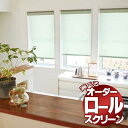 ロールスクリーン タチカワ ブラインド ロールカーテン 無地 オレンジ価格 プーロ RS-7261〜7266