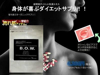 心も身体も健康になる和漢薬使用のダイエットサプリスリムスマート『B.O.W.』ボウ【オススメ】