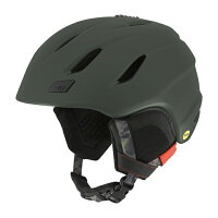 スキーヘルメット【GIRO】ジロNINEMatteOlive【送料無料】ナインMIPSアジアンフィット
