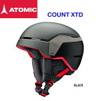 2018/2019 ATOMIC COUNT XTD Black アトミック スキー ヘルメット 超軽量 RECCO救助システム