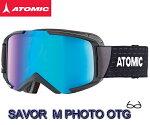 スキーゴーグル【ATOMIC】アトミックSAVORMPHOTOCHROMICOTGBlack/Photochromicスノボスノーボード