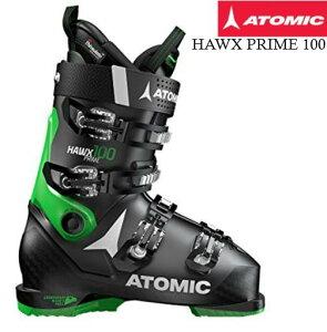 【お買物マラソン期間P5倍】2018/2019 ATOMIC HAWX PRIME 100 BLACK GREEN ブラック ホークス プライム メモリーフィット 中級 上級