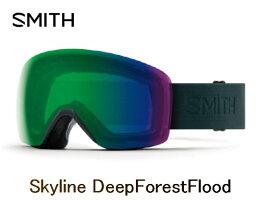 SMITHスミス2019SKYLINEBLACKアジアンフィットCPEverydayRedゴーグルスキースノボスノーボード