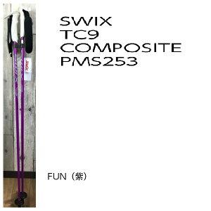 【お買物マラソン期間限定価格】【SWIX/スウィックス】2015/16 カーボンポール tc9-composite pms253  ストック  unisex