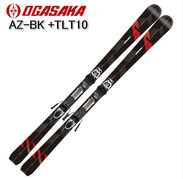 2019 2020 OGASAKA AZ-BK +TLT10 学生スキーヤー 初級 金具付き