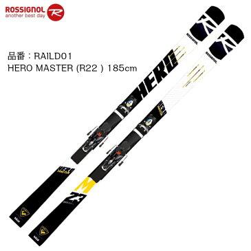 【創業祭ポイント10倍】ロシニョール 2019 2020 ROSSIGNOL HERO MASTER R22 + SPX12 ROCKERACE BK ICON 185cm ヒーロー マスターズ レーシング ビンディングセット