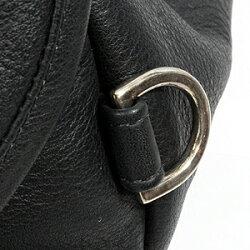 クロムハーツ(ChromeHearts)バック・メンズクロムハーツSNATパック#1/ブラックヘビーレザー