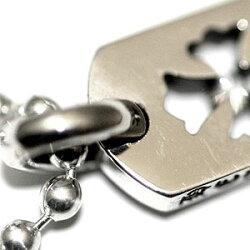 クロムハーツ(ChromeHearts)ドッグタグ・タイニーカットアウト・クロス・ドッグタグw/ダイヤモンド