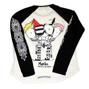 クロムハーツTシャツ(ChromeHearts)ロングスリーブ・P16-1A・ベースボール(Tシャツ)(マット・ディジャコモ)