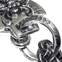 クロムハーツ(ChromeHearts)ネックレス・ぺーパーチェーン20インチ(約50cm)/3トリンケッツ