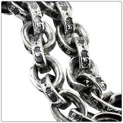 クロムハーツ(ChromeHearts)ネックレス・チェーン・ペーパーチェーン・18インチ(約45cm)