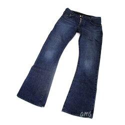 クロムハーツ(Chrome・Hearts)パンツ・メンズ・ジーン・ブーツレッグw/クロスボールボタン