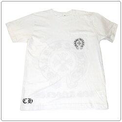 クロムハーツTシャツ(ChromeHearts)半袖・メンズ・ショートスリーブ・ホースシューロゴ・CHプラス・ロサンゼルス限定