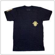 クロムハーツTシャツ(ChromeHearts)半袖・メンズ・ショートスリーブ・ポケットクルー・632・ブラック