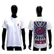 クロムハーツTシャツ(ChromeHearts)半袖・メンズ・ショートスリーブ・フォティ・ホワイト・マルチプリント