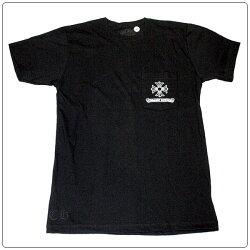 クロムハーツTシャツ(ChromeHearts)半袖・メンズ・ショートスリーブ・C16-1C・クロムハーツロゴ・ブラック