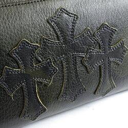クロムハーツ財布(ChromeHearts)REC・F・ZIP#2・3セメタリークロスパッチ・タンクカモ・ヘビーレザー