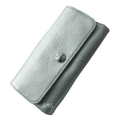 クロムハーツの財布ならAMSクロムハーツ 財布(Chrome Hearts)ジュディ・メタリックシルバー・...