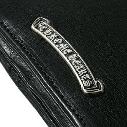クロムハーツ財布(ChromeHearts)ジョーイブラックヘビーレザーウォレット(メンズ)(長財布)クロムハーツ財布(ChromeHearts)ジョーイブラックヘビーレザーウォレット(メンズ)(長財布)