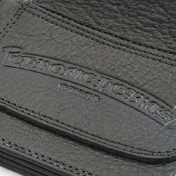 クロムハーツ財布(ChromeHearts)1ジップ・クロスボタン・セメタリーパッチブラック・ヘビーレザーウォレット(メンズ)(クロム・ハーツ)(長財布)