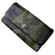 クロムハーツ財布(ChromeHearts)ジュディ・タンクカモ・レザー(メンズ)(長財布